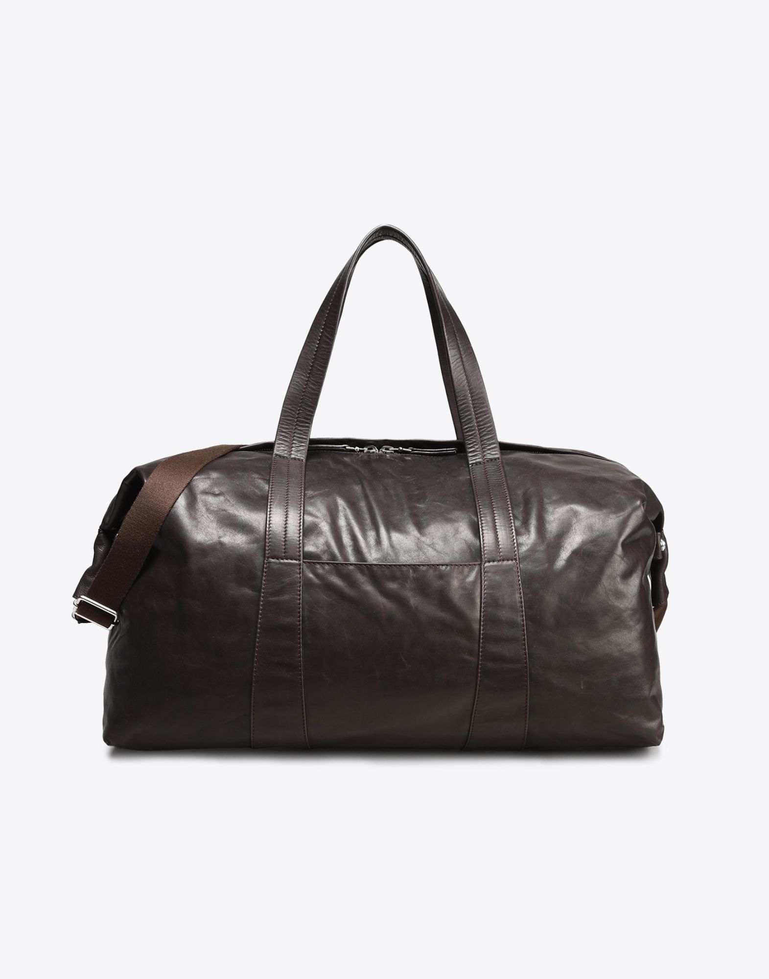 Maison Margiela Lightweight Weekend Bag In Brown For Men