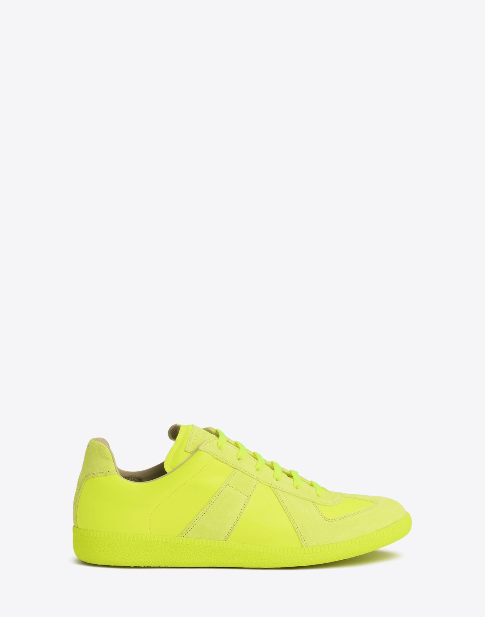 Green Fluo Replica Sneakers Maison Martin Margiela IKCiBK