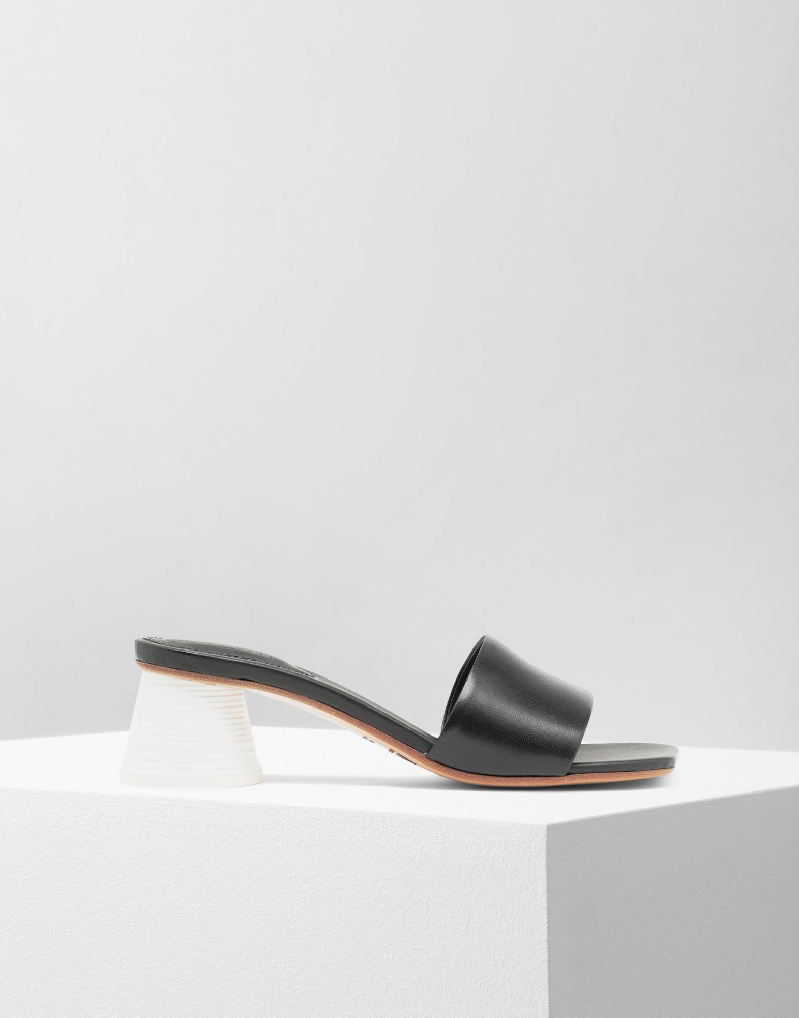 ad3aff7aaa92 Lyst - MM6 by Maison Martin Margiela Mules À Talon Gobelet Expresso ...