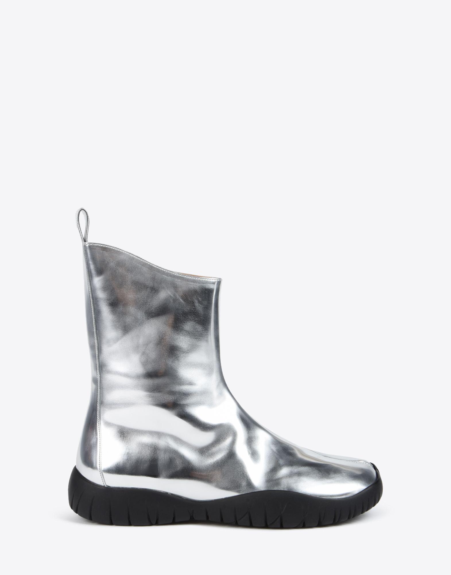 Silver Metallic Tabi Boots Maison Martin Margiela Buy Cheap Pictures j9WUx