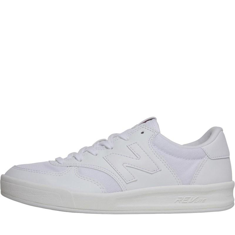 25ff2ed0ce0dd New Balance 300 Trainers White/alpha Pink in White - Lyst