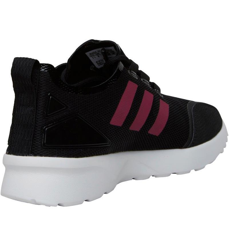 Adidas Core Originals ZX flujo ADV Verve formadores Core Adidas Negro / bold Pink 2fa62c