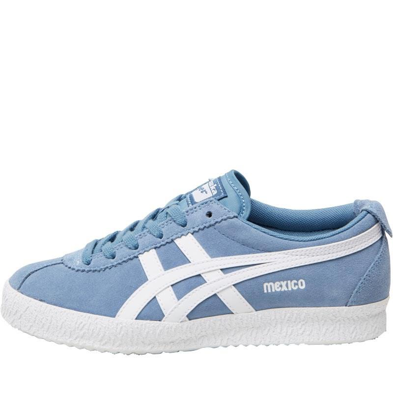 Onitsuka Tiger. Men's Mexico Delegation Trainers Blue Heaven/white