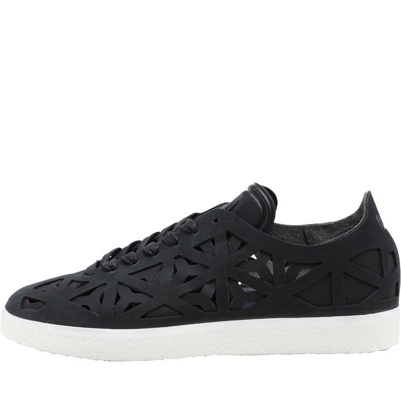 adidas Originals Gazelle Cutout Trainers Core Black core Black off ... b5903d66e