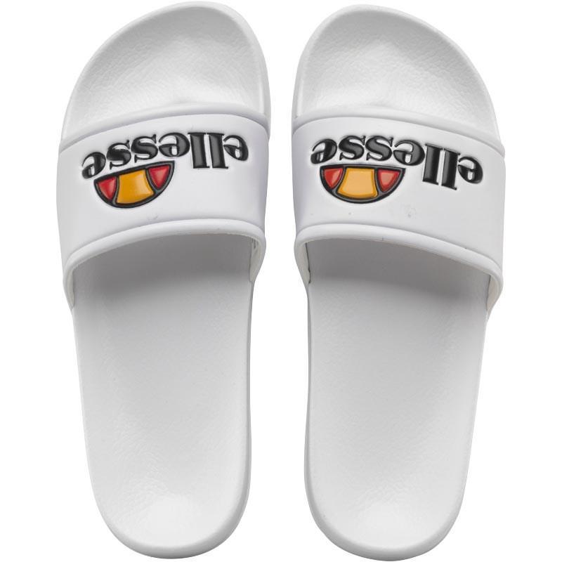 c50e8a13b6ae Ellesse Slide Sandals White in White for Men - Save 39% - Lyst