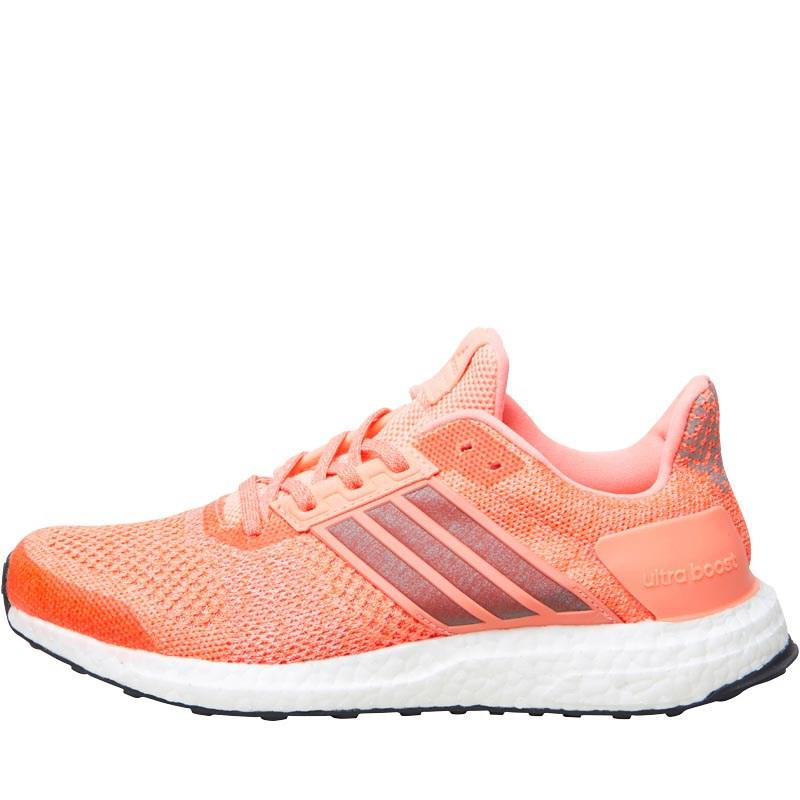 fee5e861e adidas Ultraboost St Stability Running Shoes Sun Glow super Orange ...