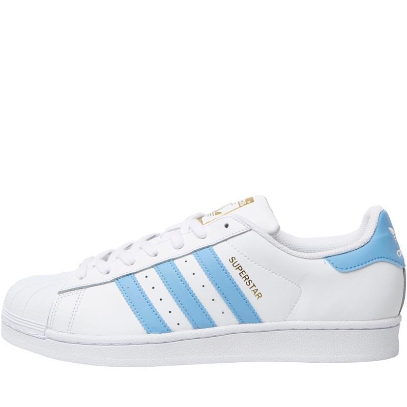 adidas superstar fondazione formatori originali bianca / luce di calzature