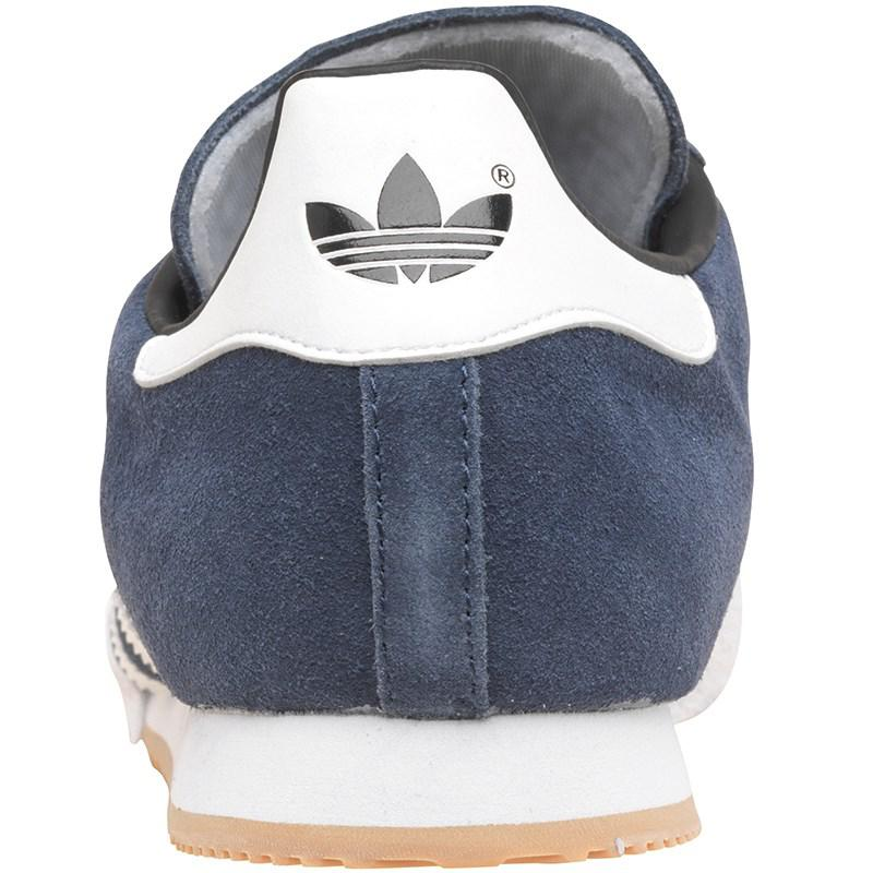e8364946079 Adidas Originals - Blue Samba Super Suede Trainers Navy white gum for Men  -. View fullscreen