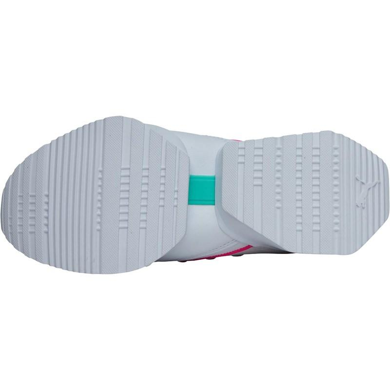 PUMA - Muse Maia Street 1 Trainers White knockout Pink - Lyst. View  fullscreen fef3f538a