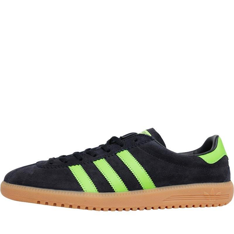 3a17f8a067384e adidas Originals Bermuda Trainers Core Black green gum in Black for ...