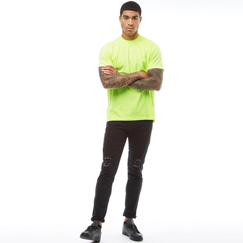 e8c2e7f4 adidas Originals X Alexander Wang Bleach T-shirt Semi Solar Yellow ...