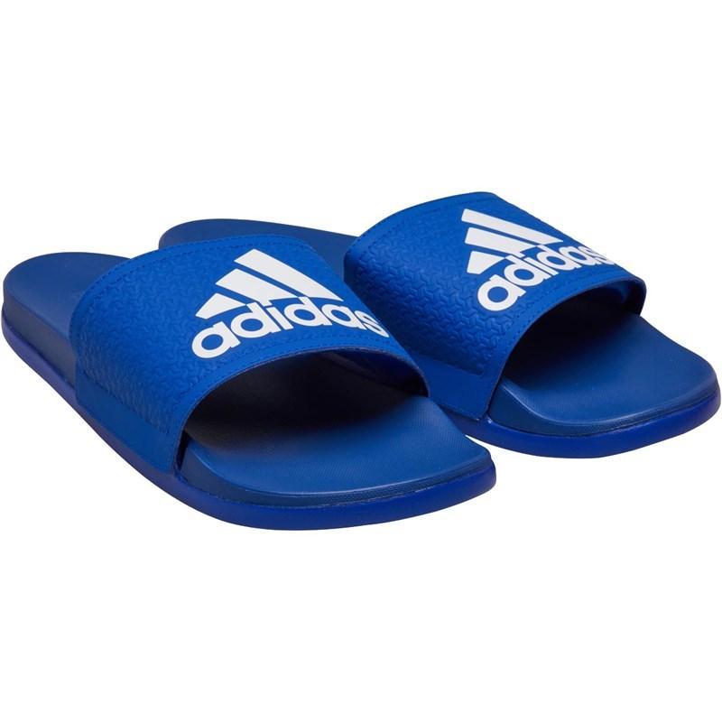 b18d5efd66cf adidas Adilette Cloudfoam Plus Slides Collegiate Royal footwear ...