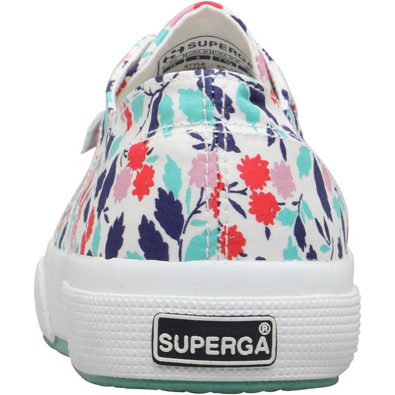 e4cdd32a9 Superga 2750 Fabric Liberty Pumps Floral Red Aqua - Lyst