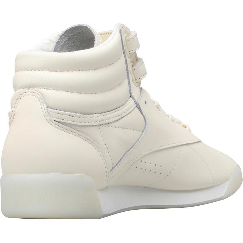 c5d332c7194c1 Reebok Freestyle Hi Face 35 Hi-tops Milky White in White - Lyst