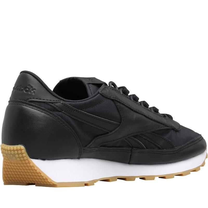 8ea5adef01496 Reebok Classics Aztec Garment And Gum Trainers Black white gum in ...