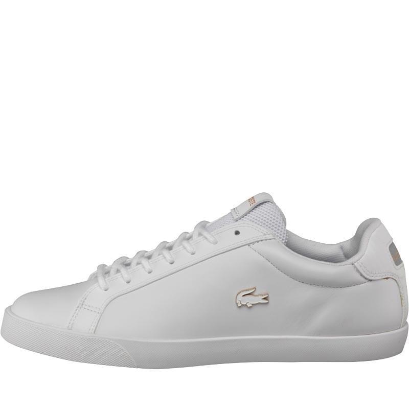 5ba97d5786aec4 Lacoste Graduate Vulc Platinum Trainers White grey in White for Men ...