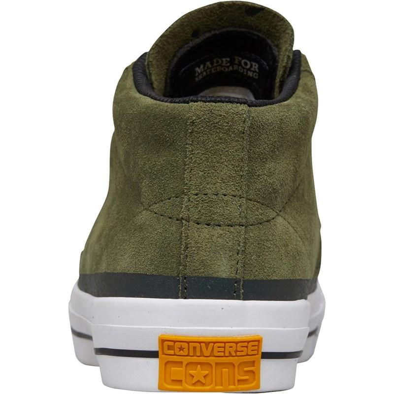 c8745adc8a Converse - Multicolor One Star Pro Suede Mid Trainers Herbal/black for Men  - Lyst. View fullscreen