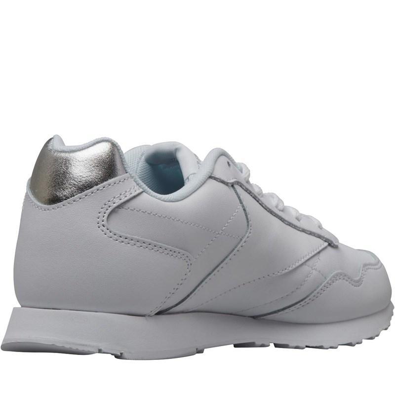 23d17710ed2999 Reebok - Royal Glide Lx Trainers White silver Metallic - Lyst. View  fullscreen
