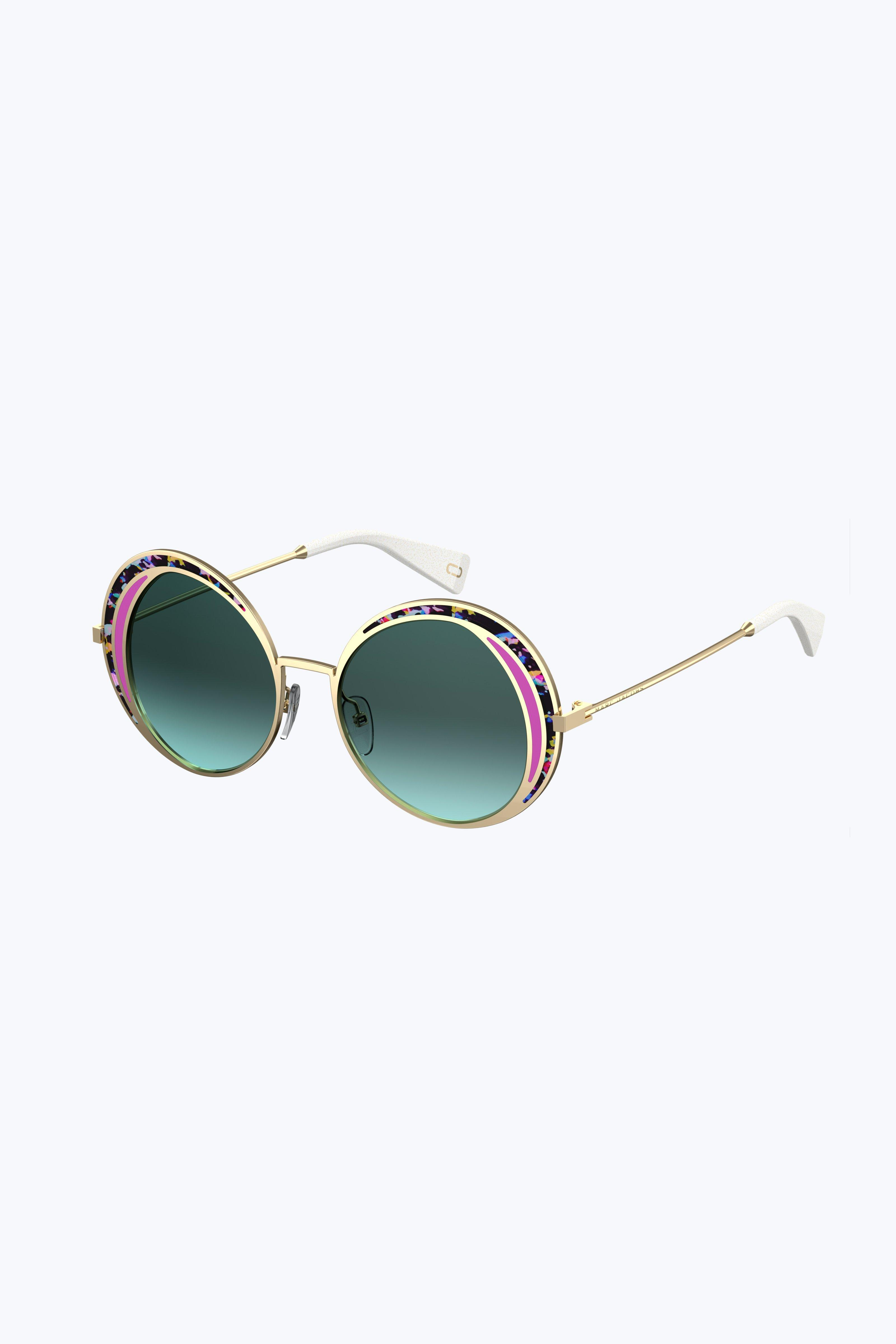 463cd7e01d4 Marc Jacobs Retro Vintage Round Sunglasses in Blue - Lyst