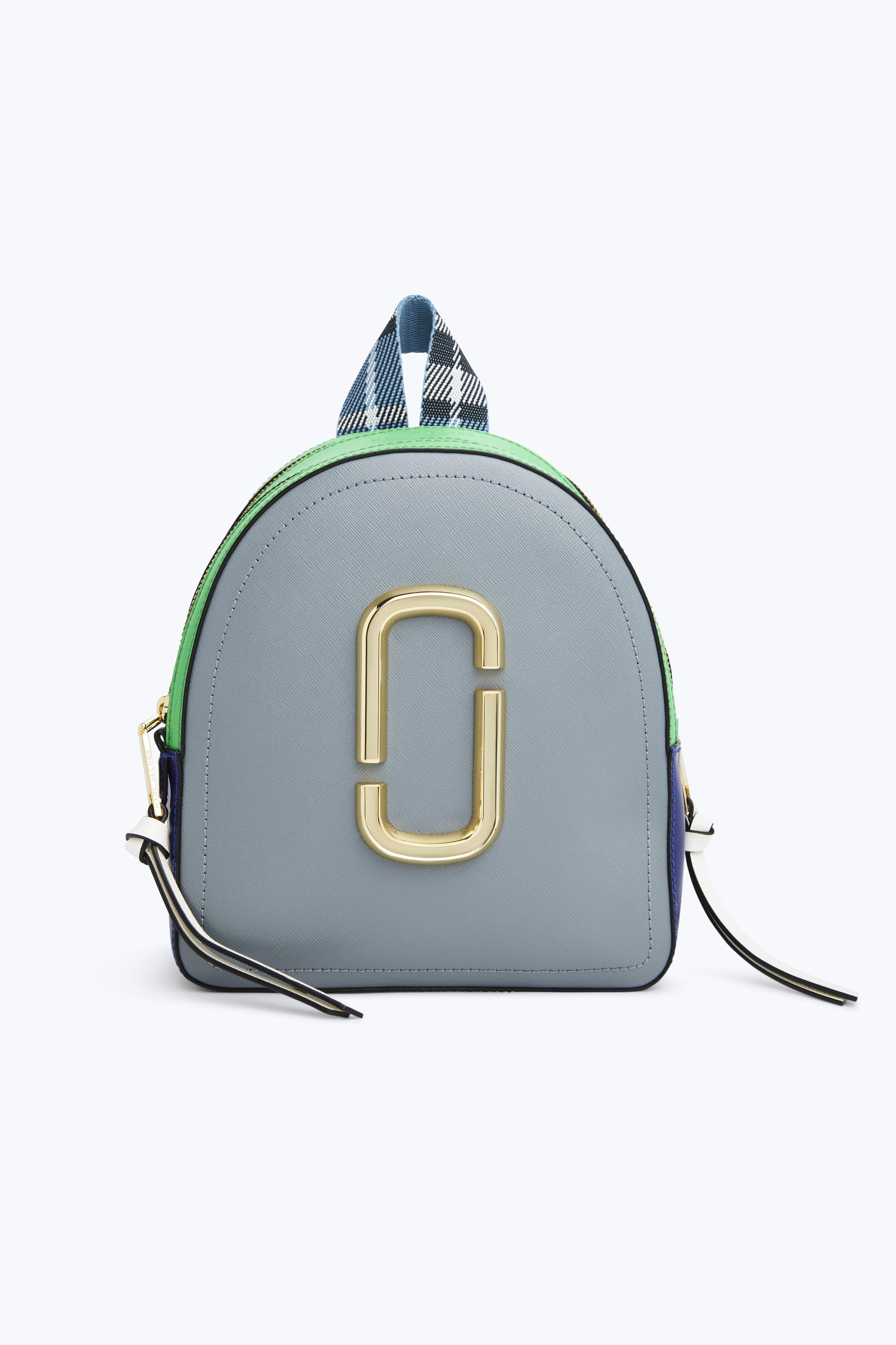 Pack Shot Color-block Textured-leather Backpack - Black Marc Jacobs VCk91