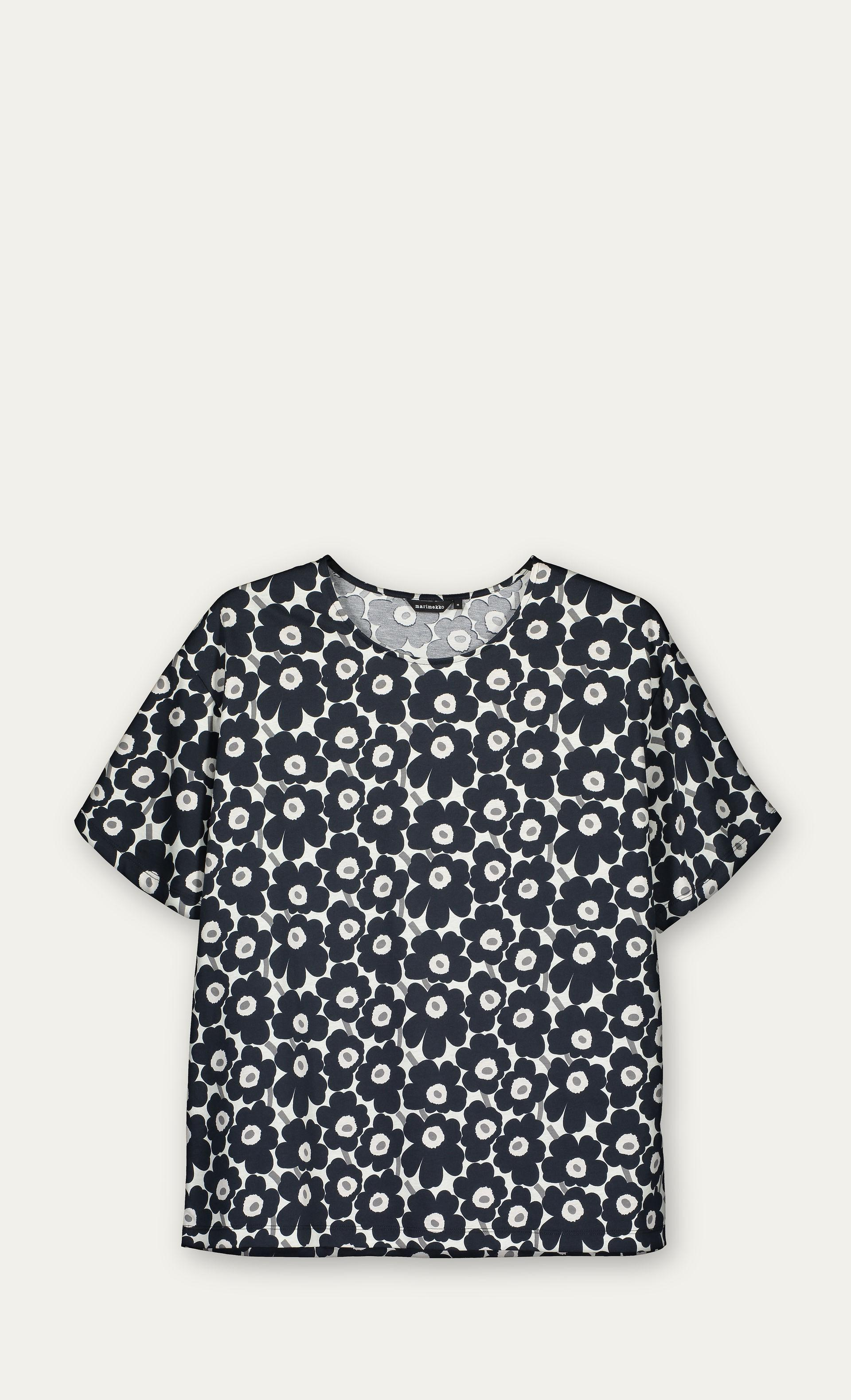 4e5620375b Marimekko Lea Unikko T-shirt in Gray - Lyst