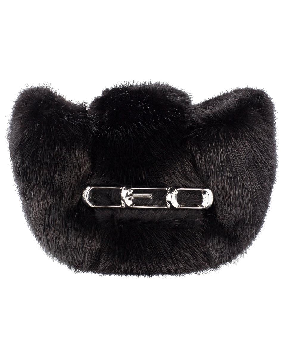 445c73a51a Alexander Wang Mico Mini Mink Clutch in Black - Lyst