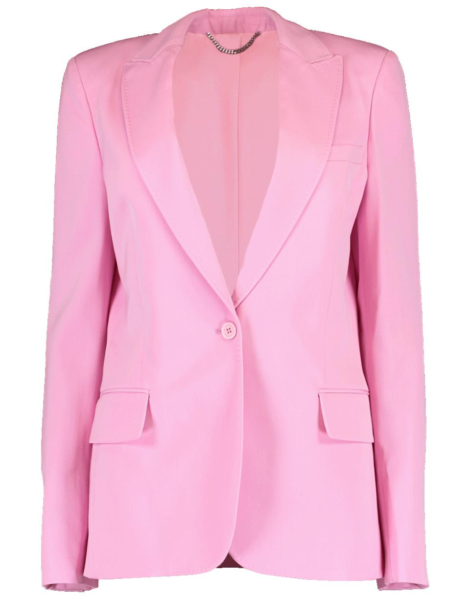 21f5a87f41a Stella McCartney One Button Alisa Blazer in Pink - Lyst