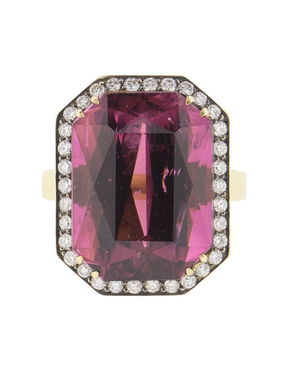 04e820ebf4c Lyst - Sylva   Cie Rhodolite And Diamond Ring