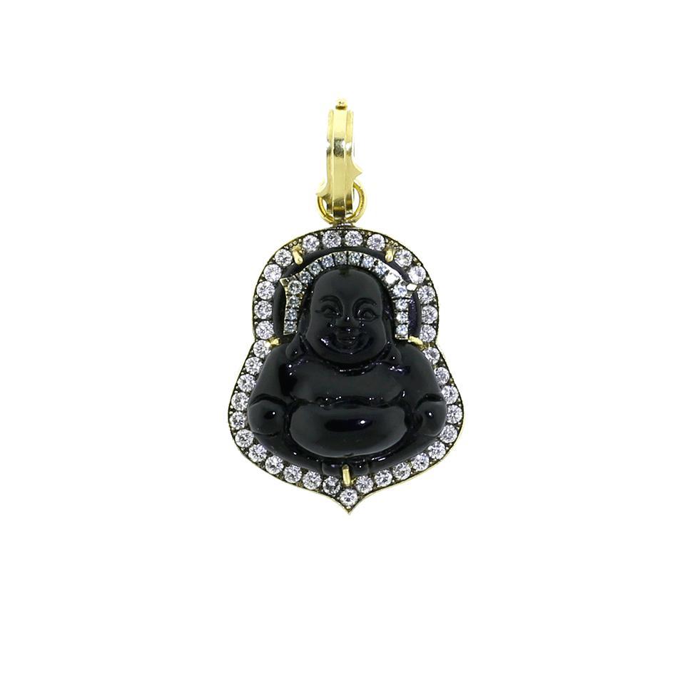 Sylva & Cie. Black Jade Necklace Wkvv14ES3