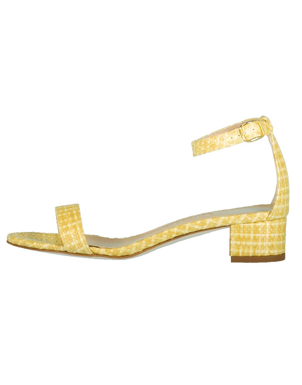 e902acfbce4b Lyst - Manolo Blahnik Chaflahi Block Heel Sandal in Natural