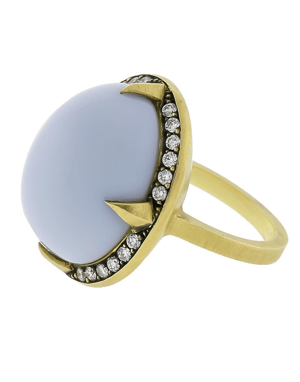 1965c48d09f Lyst - Sylva   Cie Brazilian Blue Opal Ring in Blue