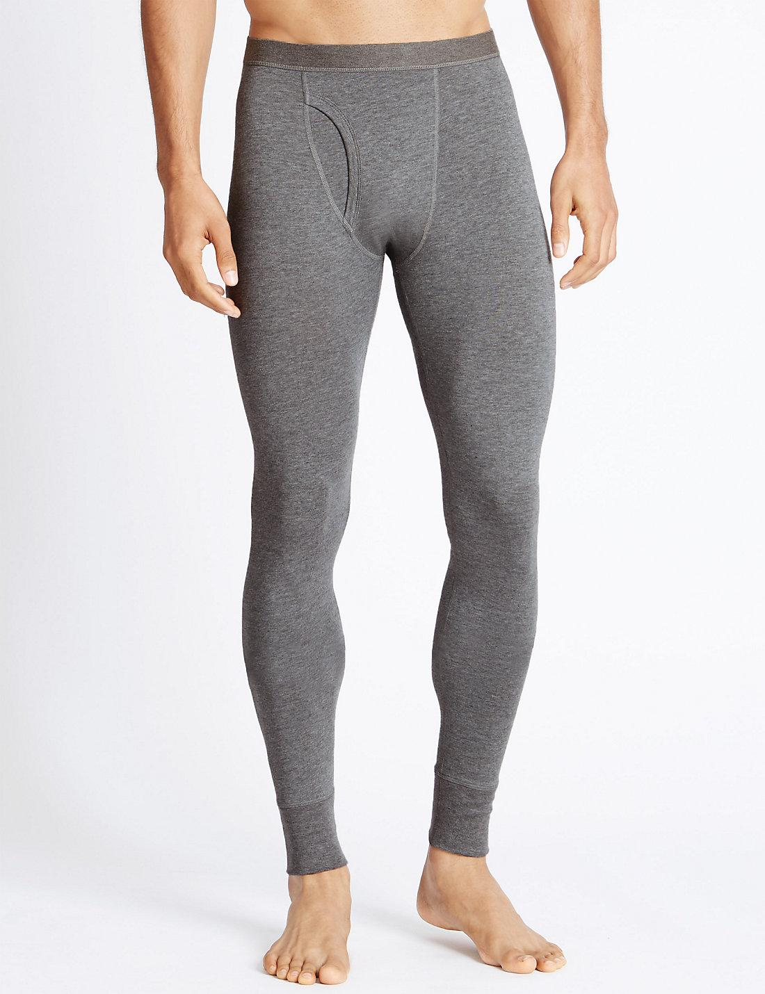 f62f32f97 Lyst - Marks & Spencer 2 Pack Thermal Heatgentm Long Johns in Gray ...