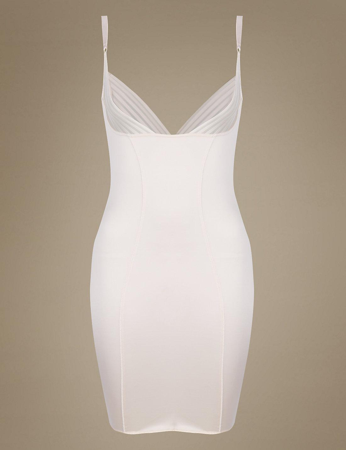 Marks spencer firm control wear your own bra slip in for Best bra for wedding dress