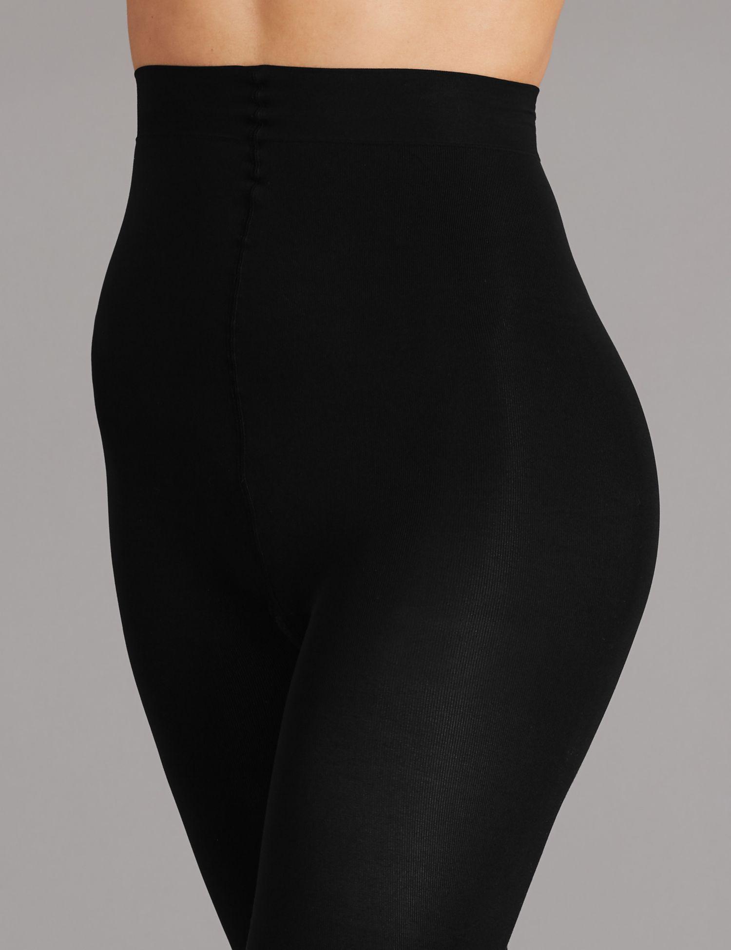 07d696861 Marks   Spencer 100 Denier Velvet Touch Opaque Tights in Black - Lyst