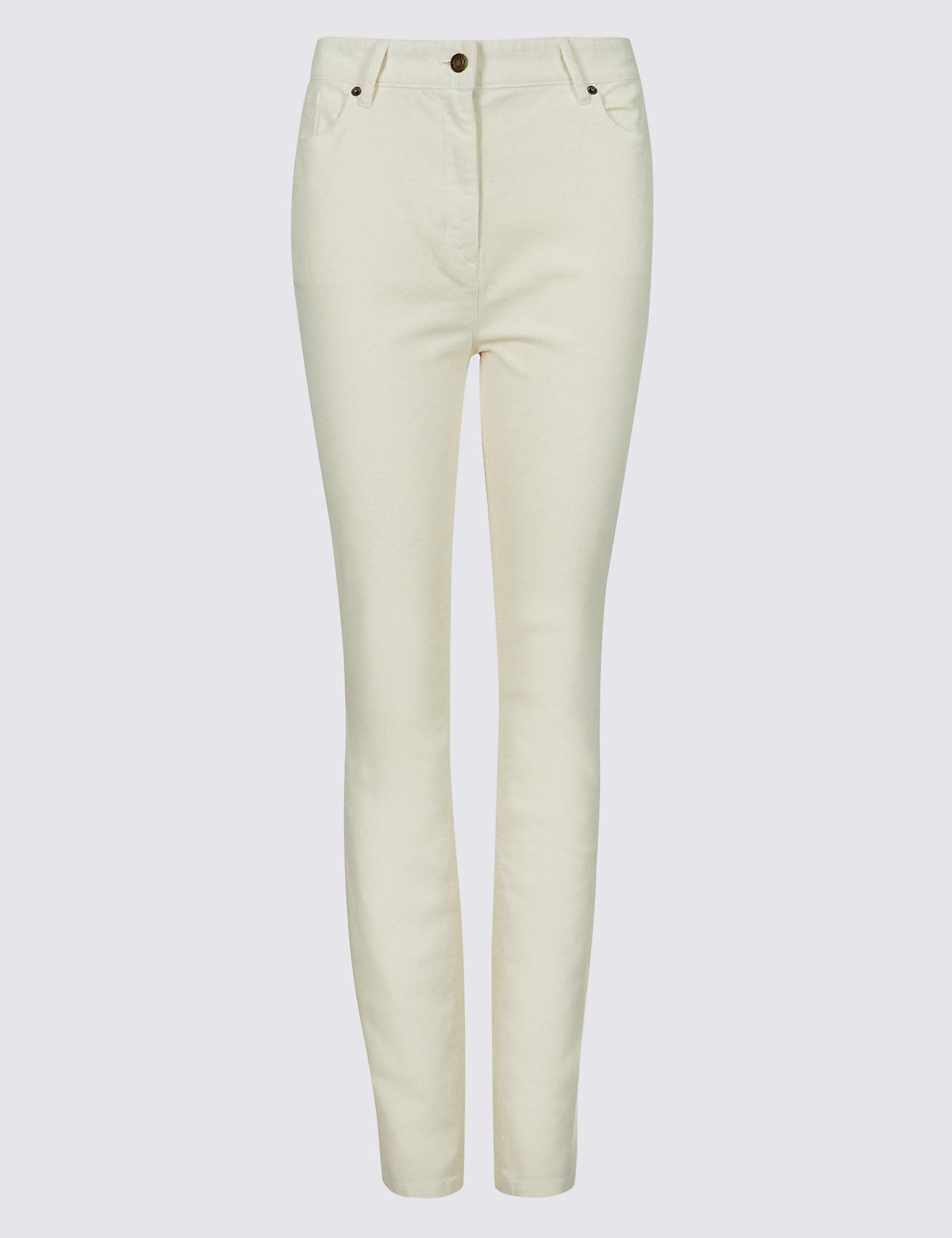 39dcf23032b Marks   Spencer Cotton Rich Straight Leg Corduroy Trousers - Lyst