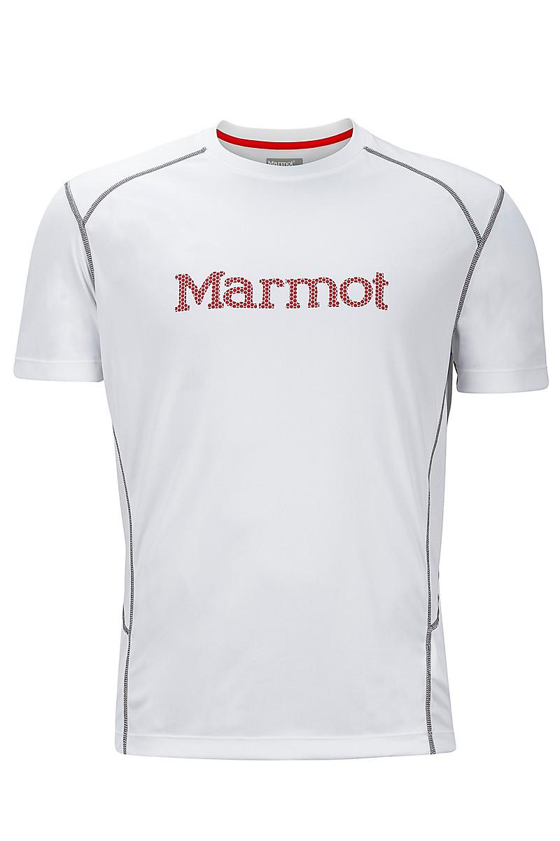 18475a33 Marmot Windridge With Graphic Ss in White for Men - Lyst