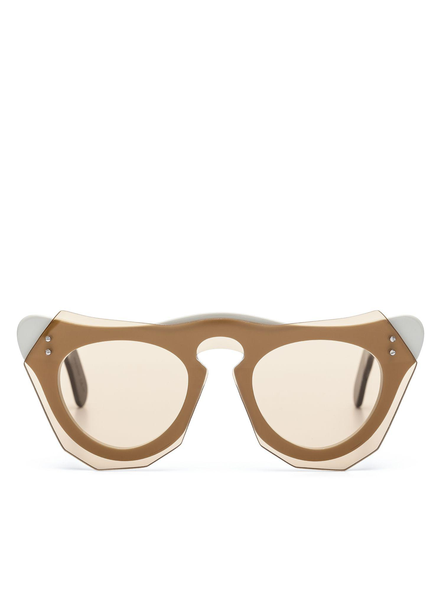 ced87cf52a Lyst - Marni Cut Out Acetate Glasses With Screwed In Bar
