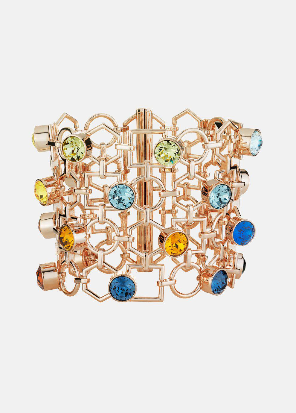 Mary Katrantzou Nostalgia Bangle Light Multi B2EsFltCHd