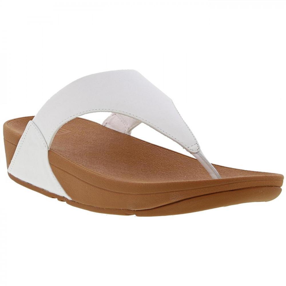 9bd7d9e40 Fitflop - Multicolor Lulu Toe Post Leather Flip Flop Sandals - Lyst. View  fullscreen
