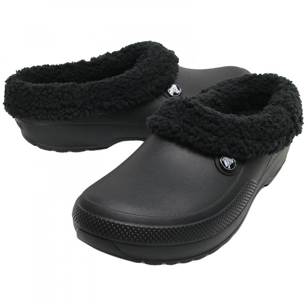 3334bddec Crocs™ Blitzen Iii Vegan Clog Slipper Shoes in Black - Save ...