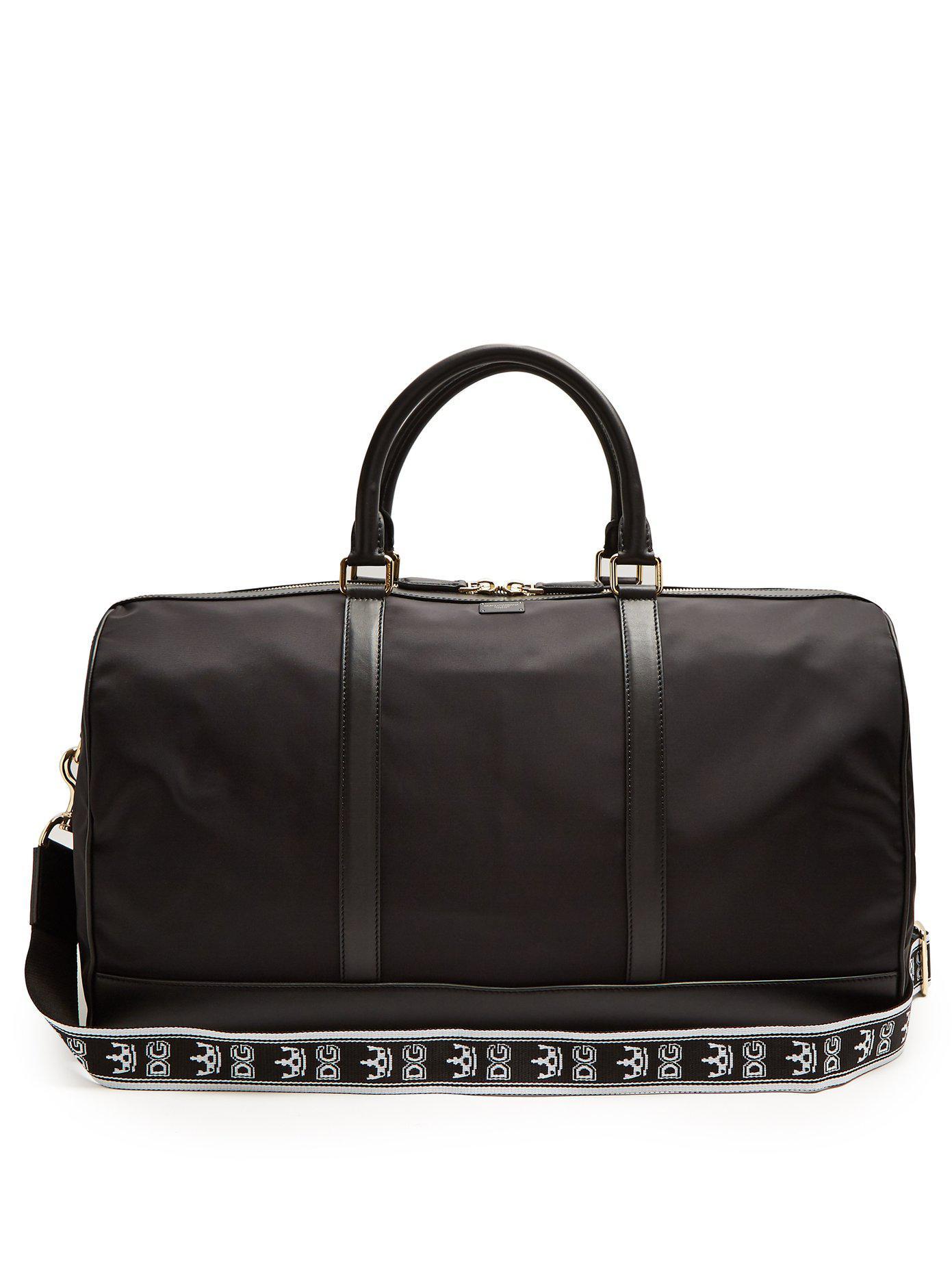 Lyst - Cabas en nylon à bords en cuir Dolce   Gabbana pour homme en ... 8251cde4f38b