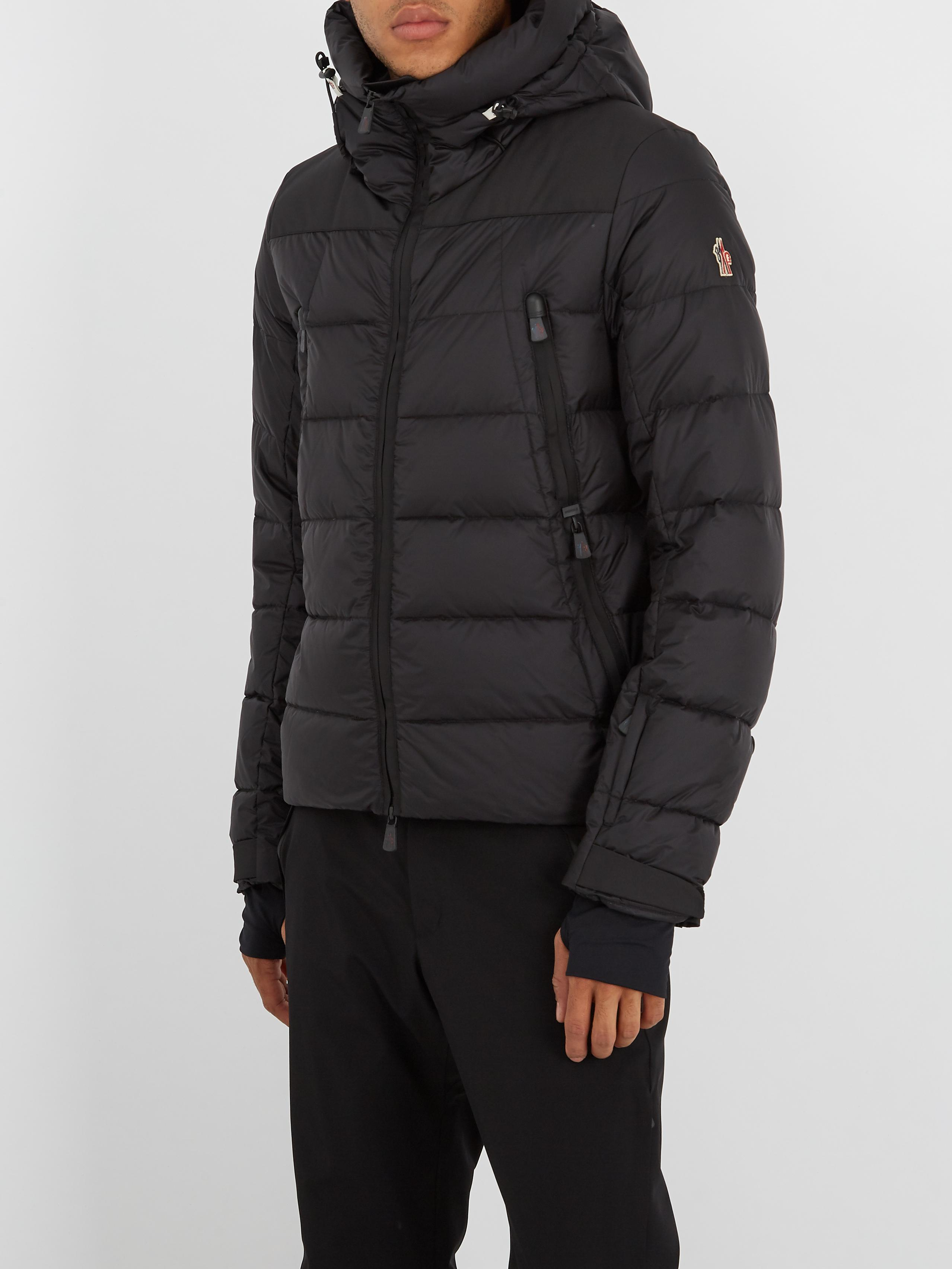 6e616e4a106a Lyst - Moncler Grenoble Camurac Hooded Quilted Down Jacket in Black ...