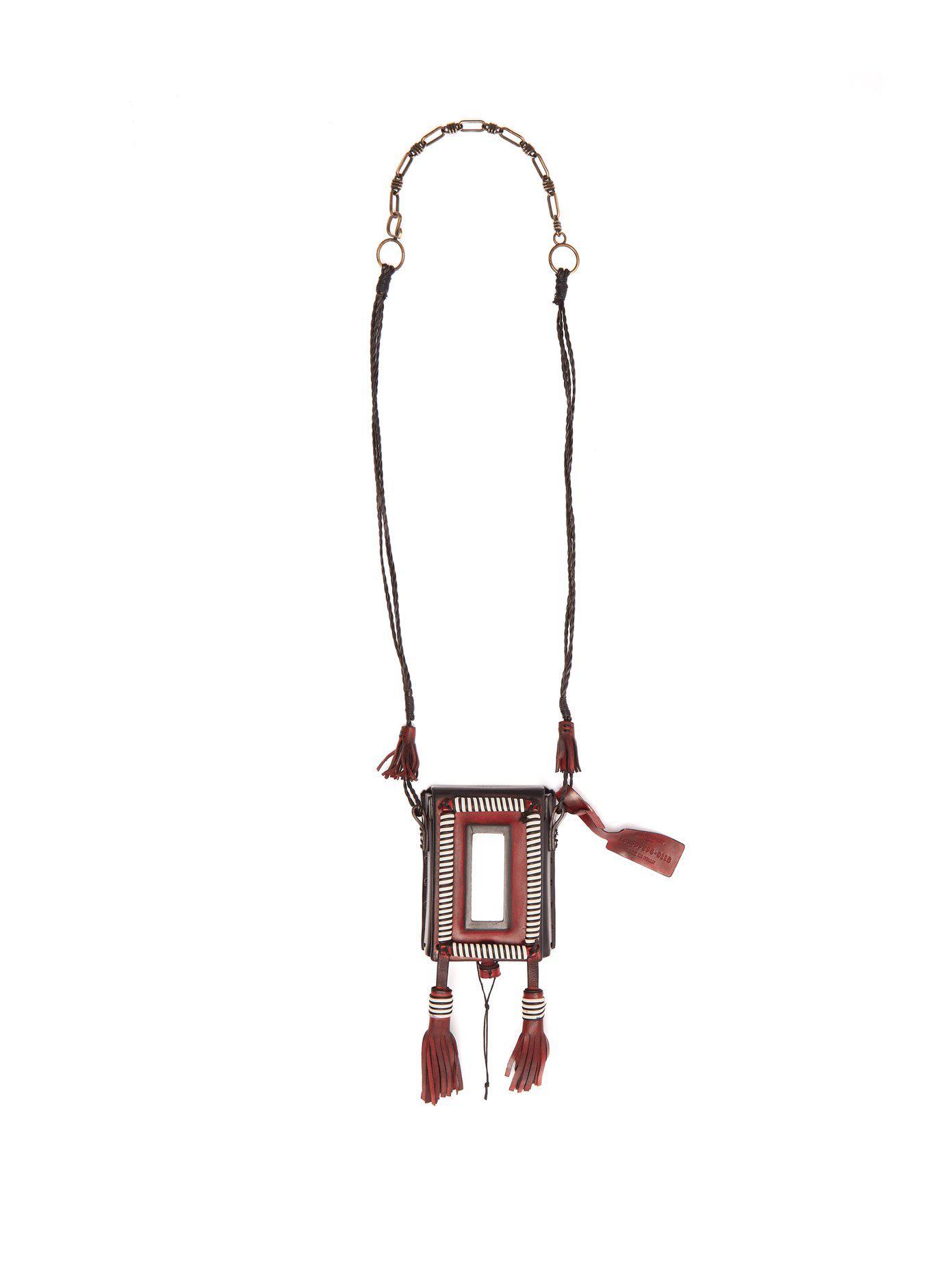 Saint Laurent Marrakech cigarette case necklace - Black xcFoj