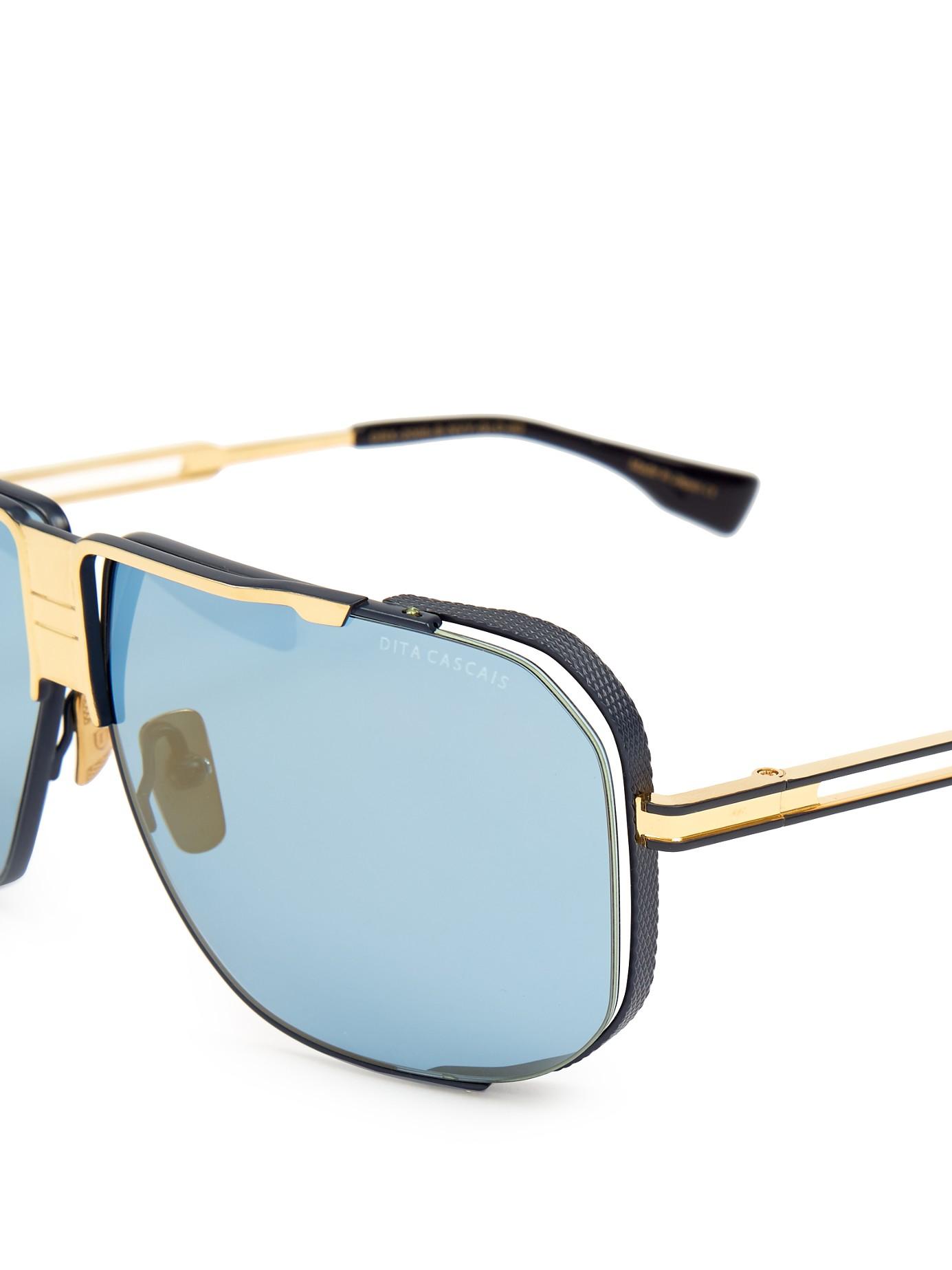 45a6caeda52e Lyst - Dita Eyewear Cascais Sunglasses in Gray for Men