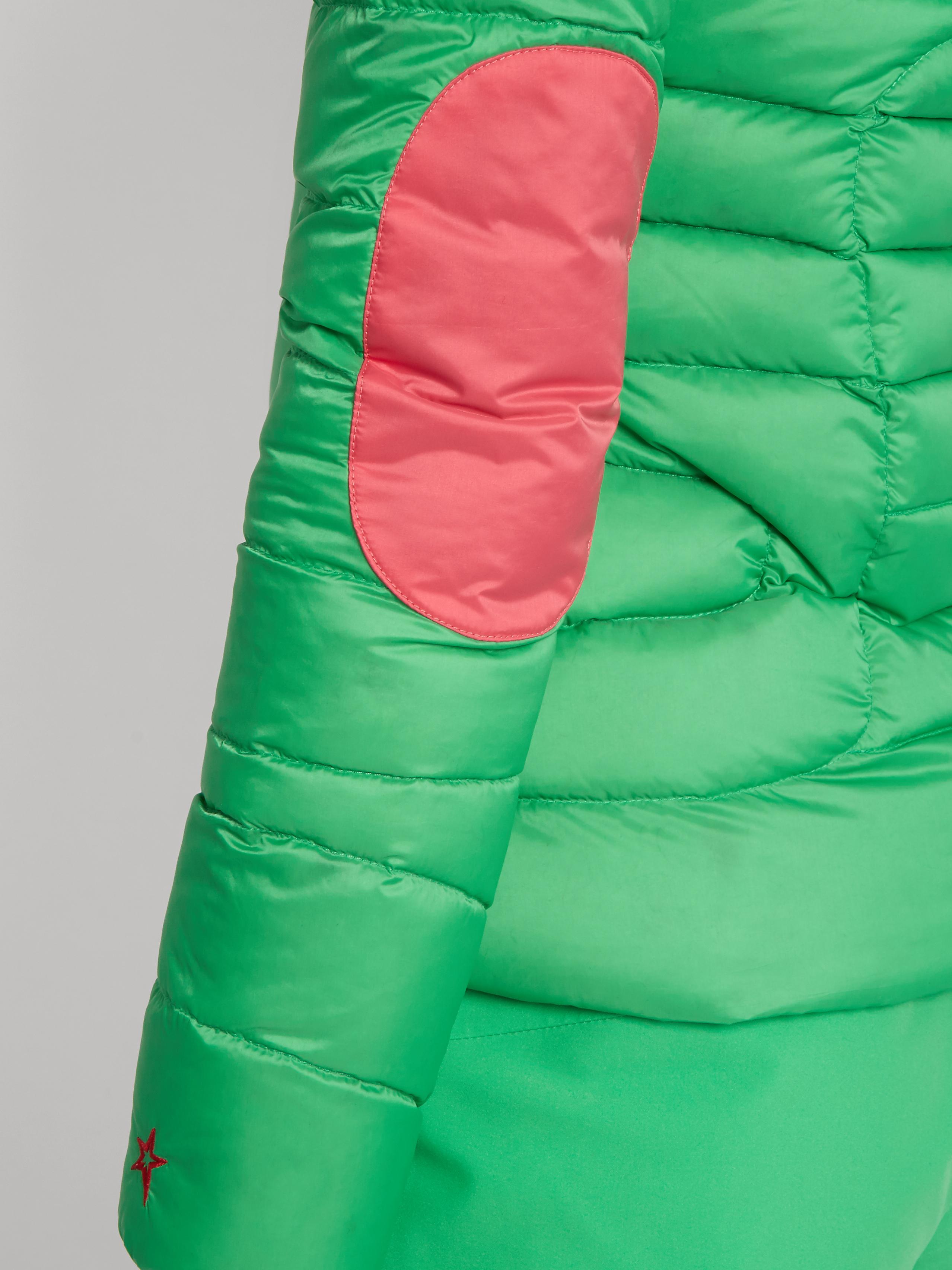 Perfect Moment Mini Duvet Down Padded Ski Jacket In Green