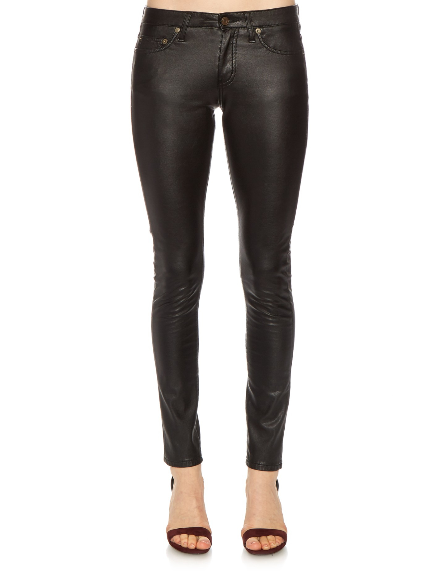 Harley Davidson Highland Contoured Low Rise Boot Cut Leather Pants VW Brand New · Harley-Davidson · $ or Best Offer +$ shipping. SPONSORED. Low Rise Leather Pants Side Cut Outs Chain Detail Back Zipper Closure L Brand New. $ Buy It .