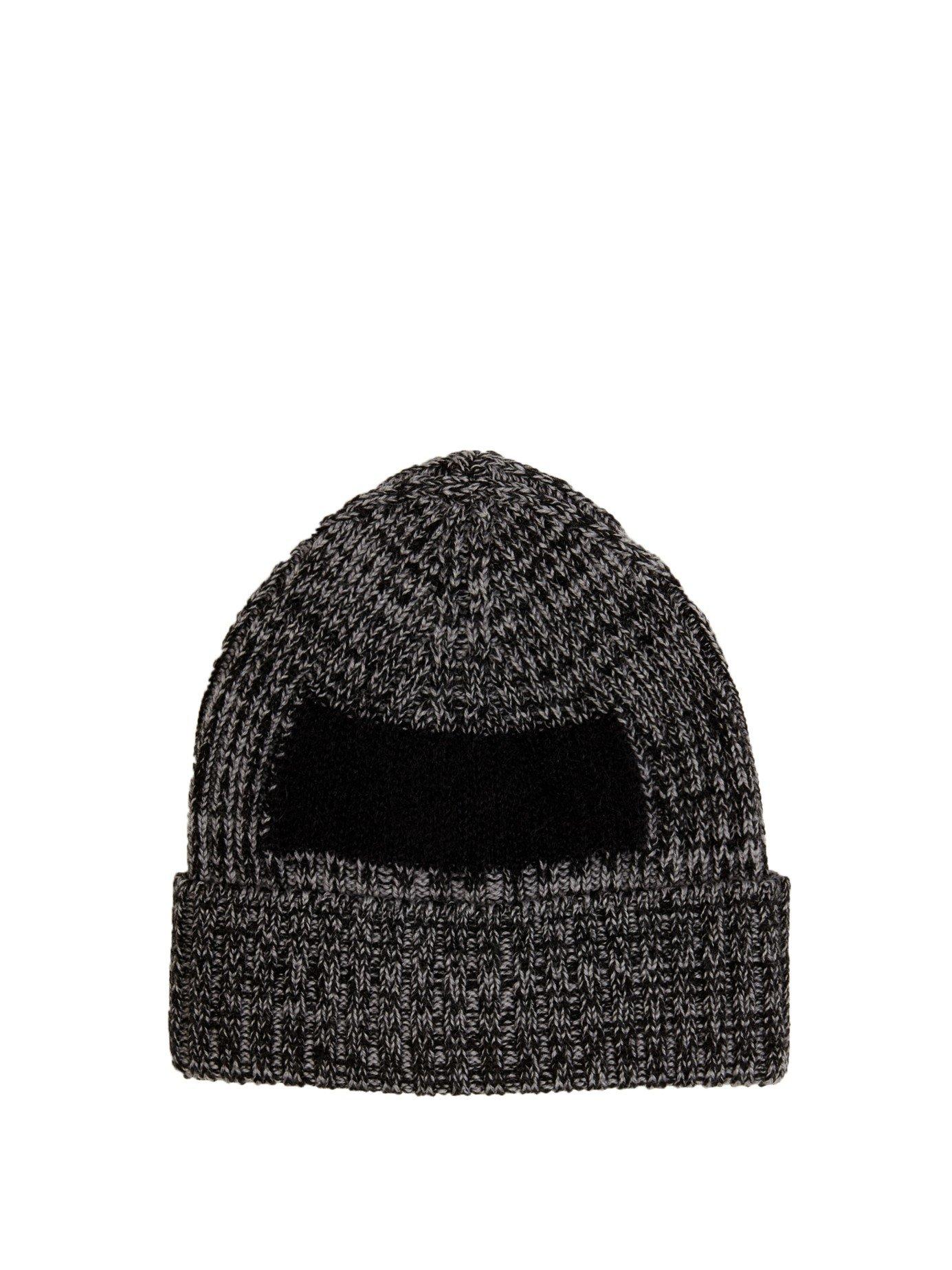 Oamc Ribbed Mohair-insert Beanie Hat in Gray for Men