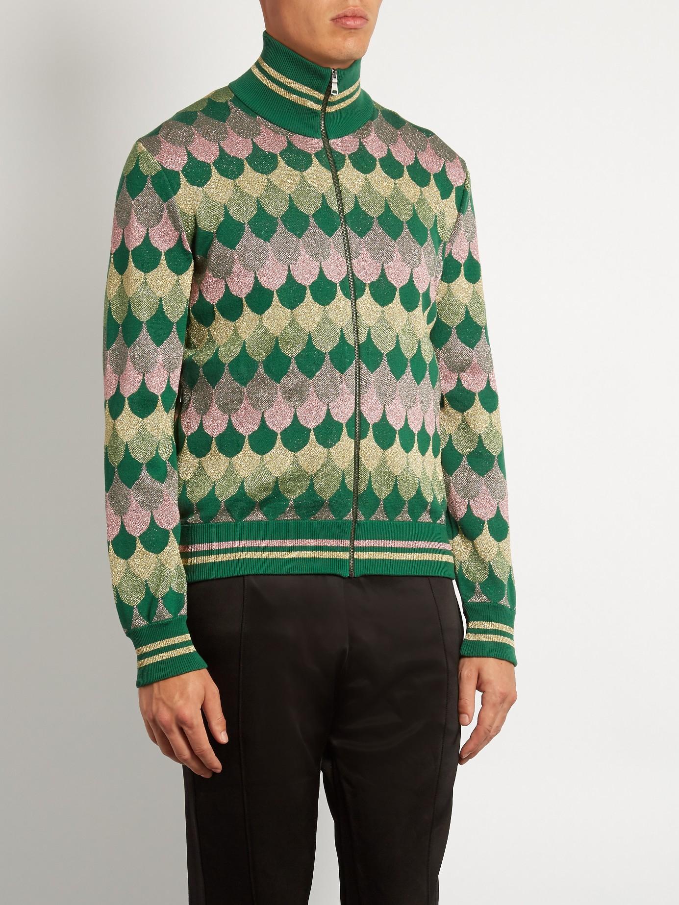 Zip Mock Neck Sweater