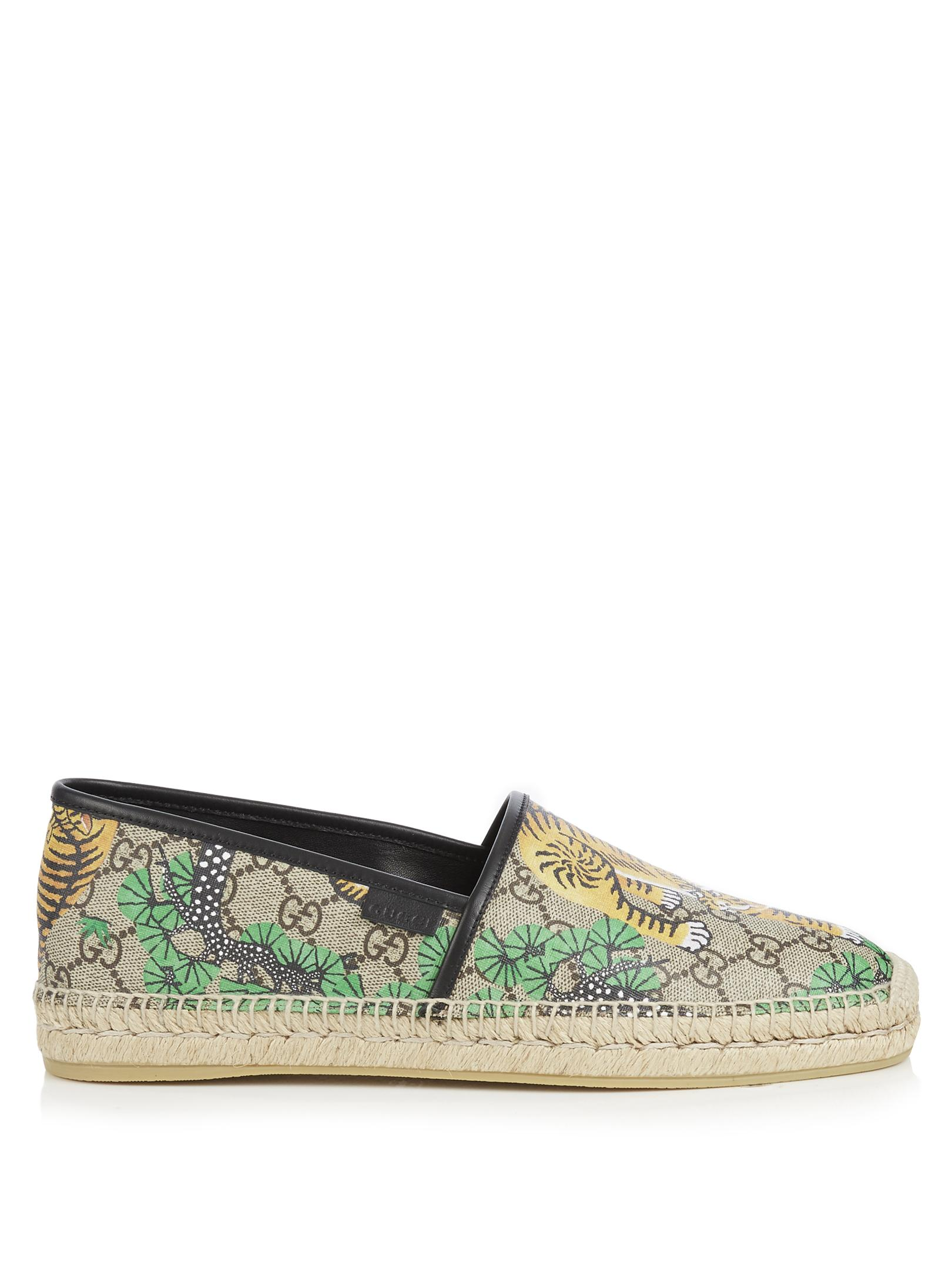 Armani Shoes Canvas Slip On Espadrilles