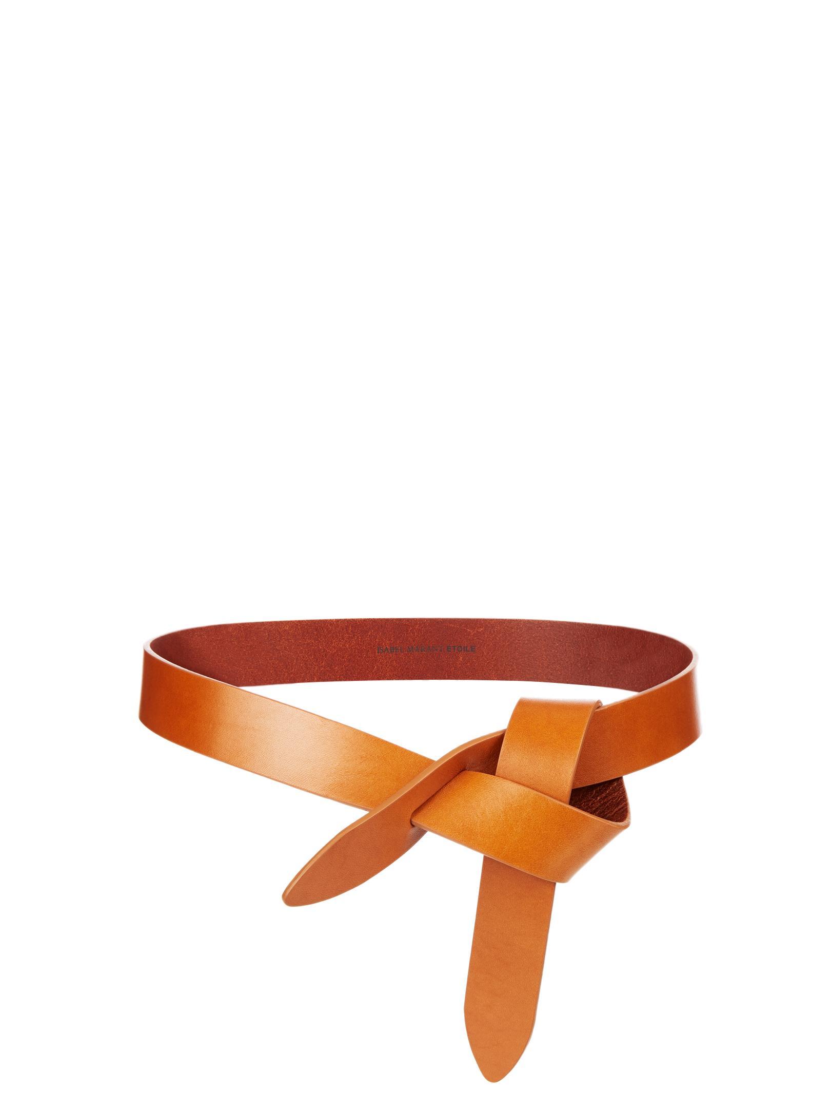 a648f76f9105 Étoile Isabel Marant Lecce Leather Knot Waist Belt - Lyst